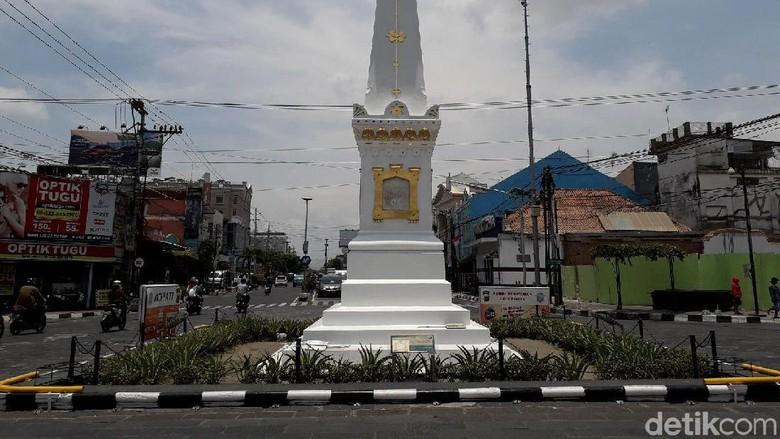 5 Fakta Tugu Jogja, Ikon Bersejarah Kota Yogyakarta. Foto: Ristu Hanafi/detikcom