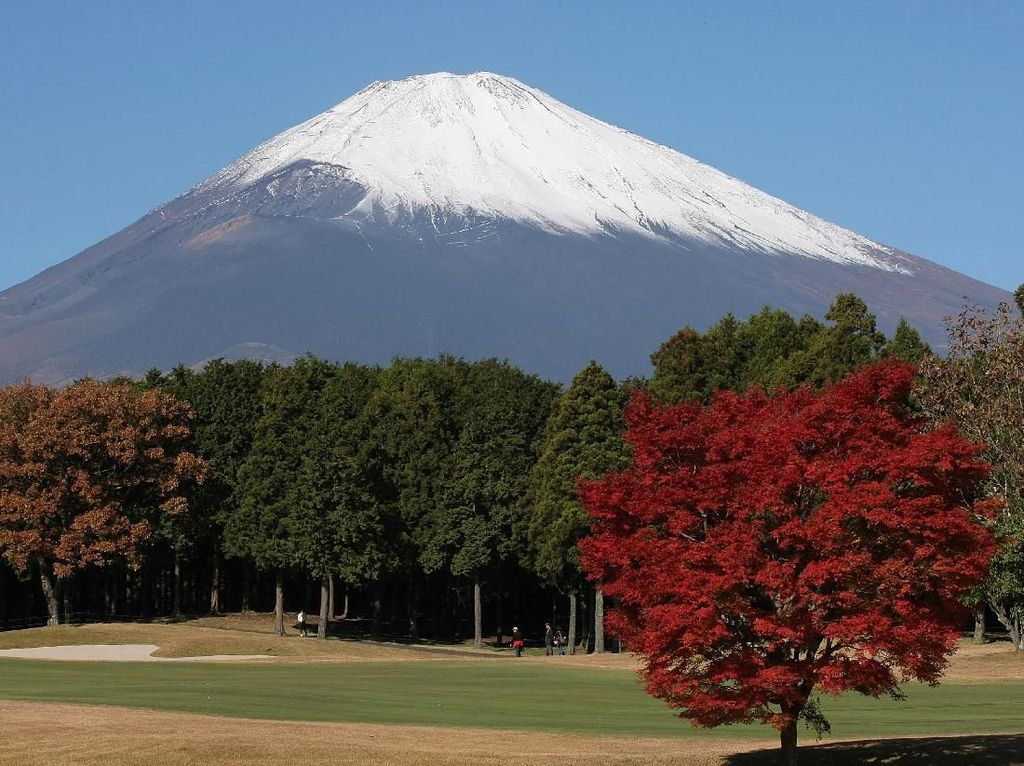 Mungkin, Ini Foto Penampakan Gunung Fuji yang Paling Dekat