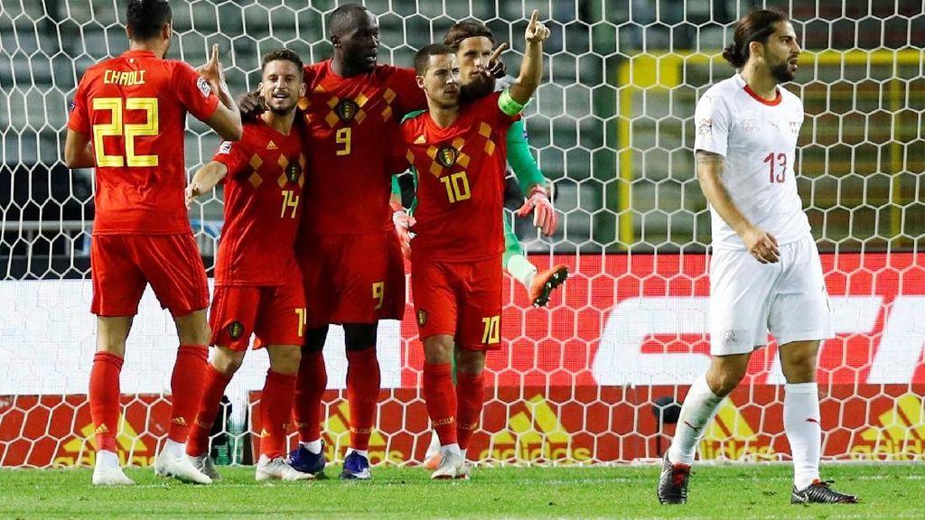 Bekap Swiss, Tren Kemenangan Belgia Berlanjut