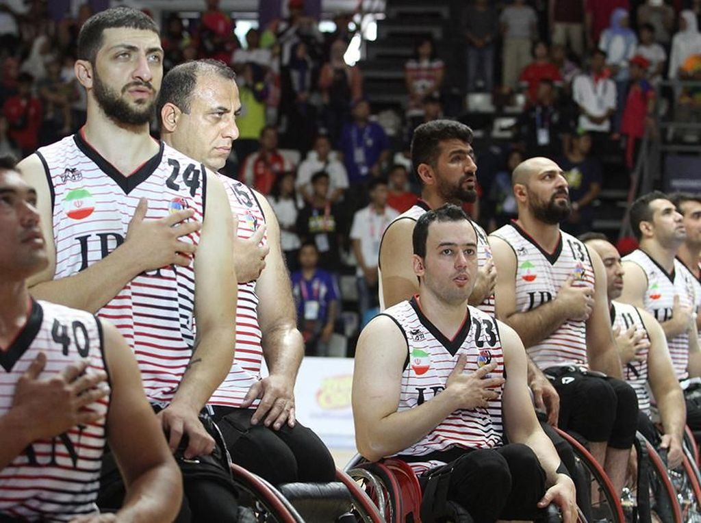 Iran Pemilik Medali Emas Basket Kursi Roda Putra