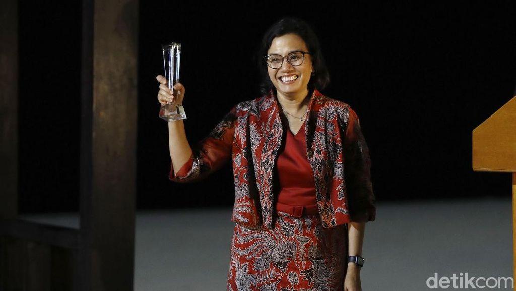 Sri Mulyani Kembali Raih Menteri Keuangan Terbaik Dunia