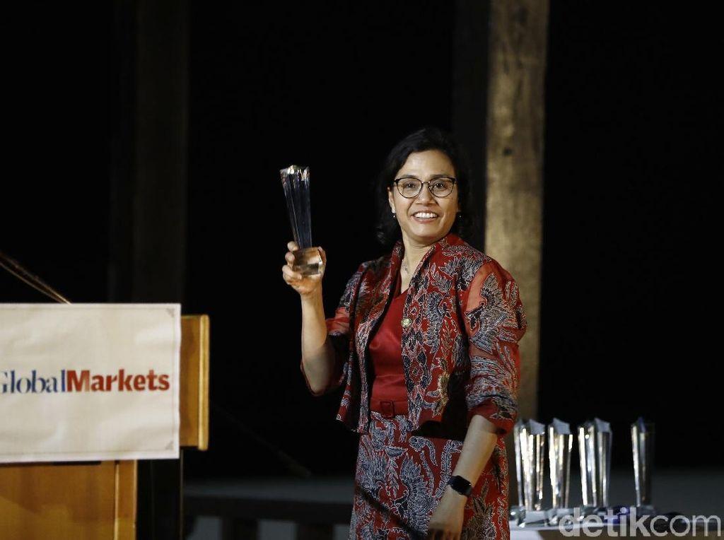 Sri Mulyani Jadi Menkeu Terbaik versi Majalah Global Market