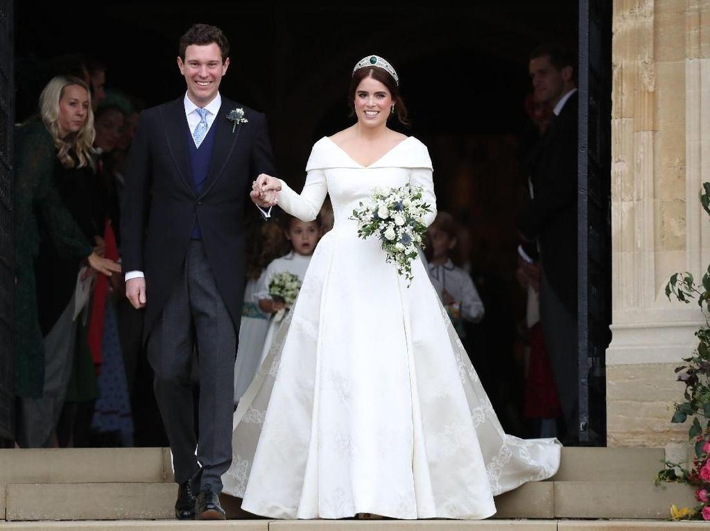 Suasana Khidmat Pernikahan Putri Eugenie dan Jack Brooksbank