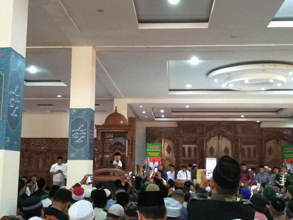 Hadiri Acara Naqsabandiyah, Maruf Disapa Umara Indonesia