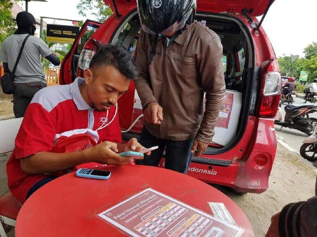 Jaringan Telkomsel di Sulteng 100% Kembali Normal