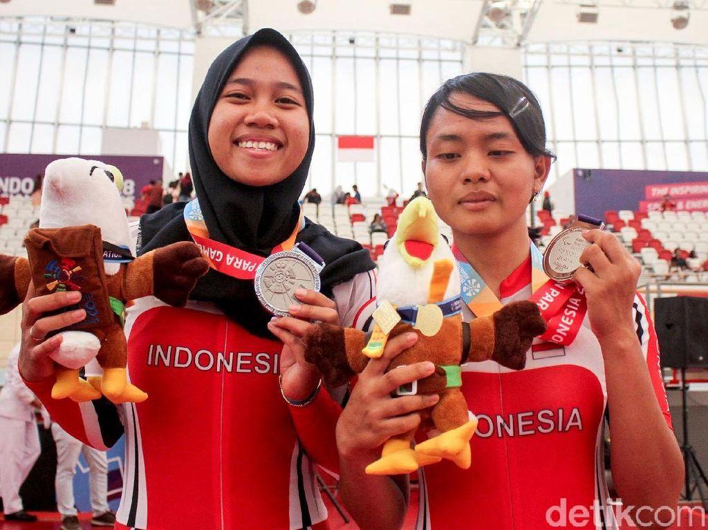Sri Sugiyanti Persembahkan Medali Perak untuk Indonesia