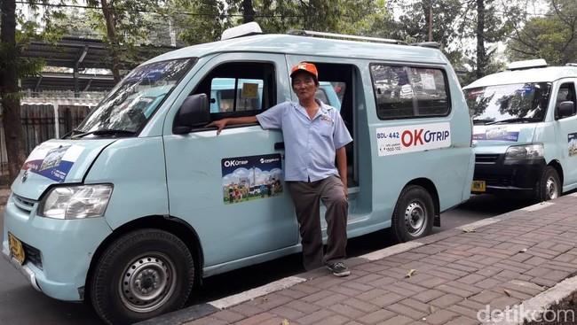 Kata Sopir Angkot OK Otrip soal Ganti Nama Jadi Jak Lingko