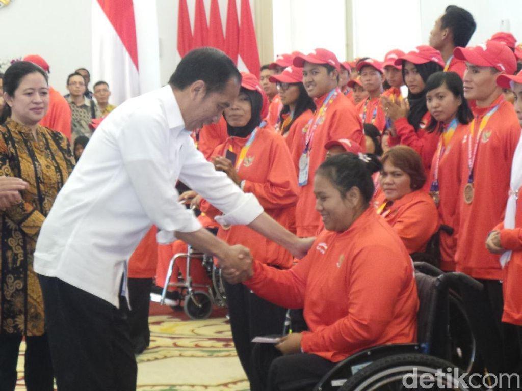 Jokowi Bangga Kerja Keras Luar Biasa Atlet Asian Para Games
