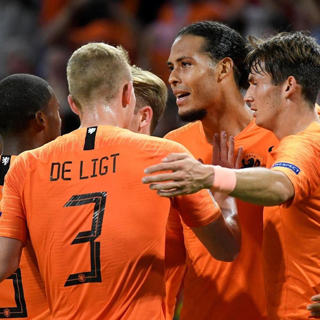 Hasil UEFA Nations League: Belanda Libas Jerman 3-0