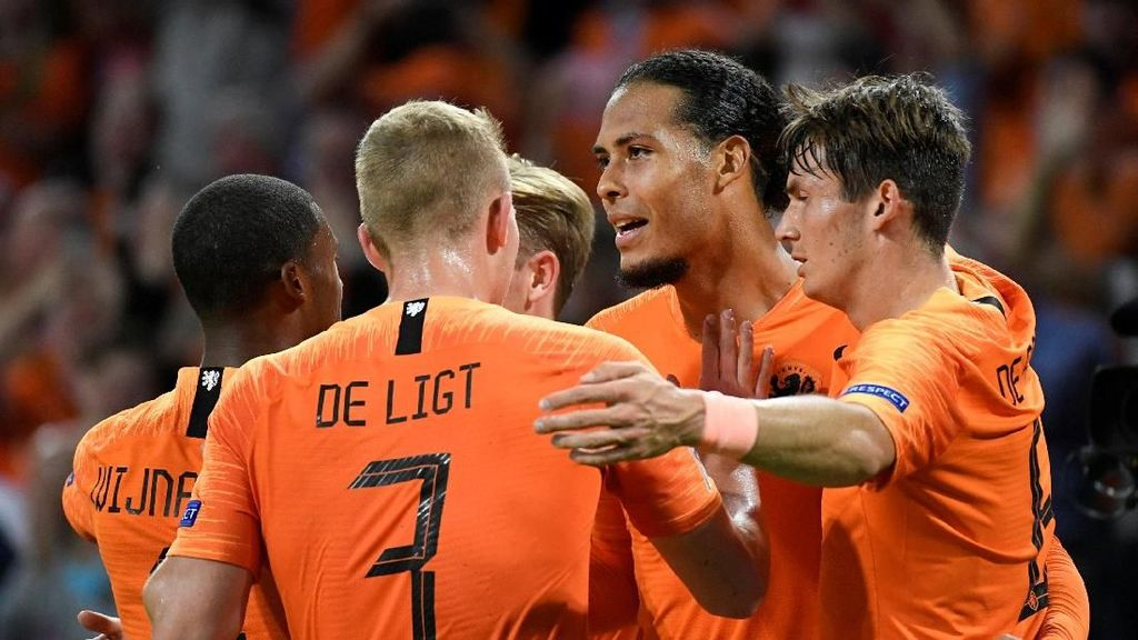 Hasil UEFA Nations League: Belanda Libas Jerman 3-0