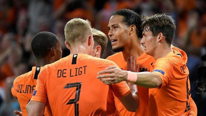 Timnas Belanda libas Jerman 3-0 (REUTERS/Piroschka Van de Wouw)
