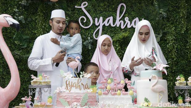 Cara Kartika Putri Dekat dengan 3 Anak Habib Usman/