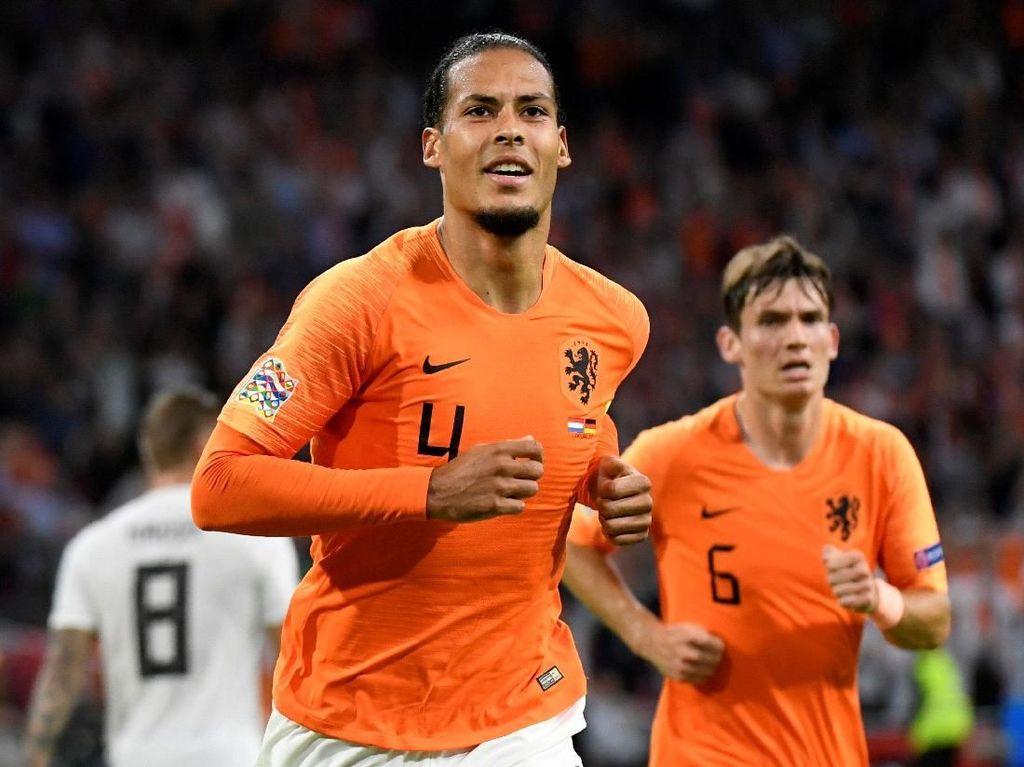 Video: Duo Liverpool Bawa Belanda Cukur Jerman 3-0