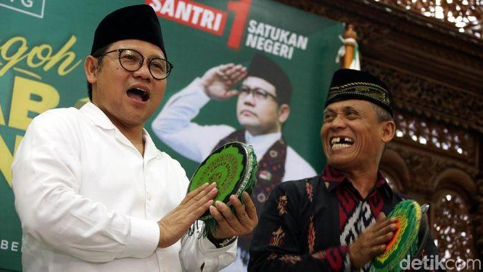 Muhaimin Iskadar akan merevolusi PSSI, jika terpilih sebagai ketua umum (Rengga Sancaya)
