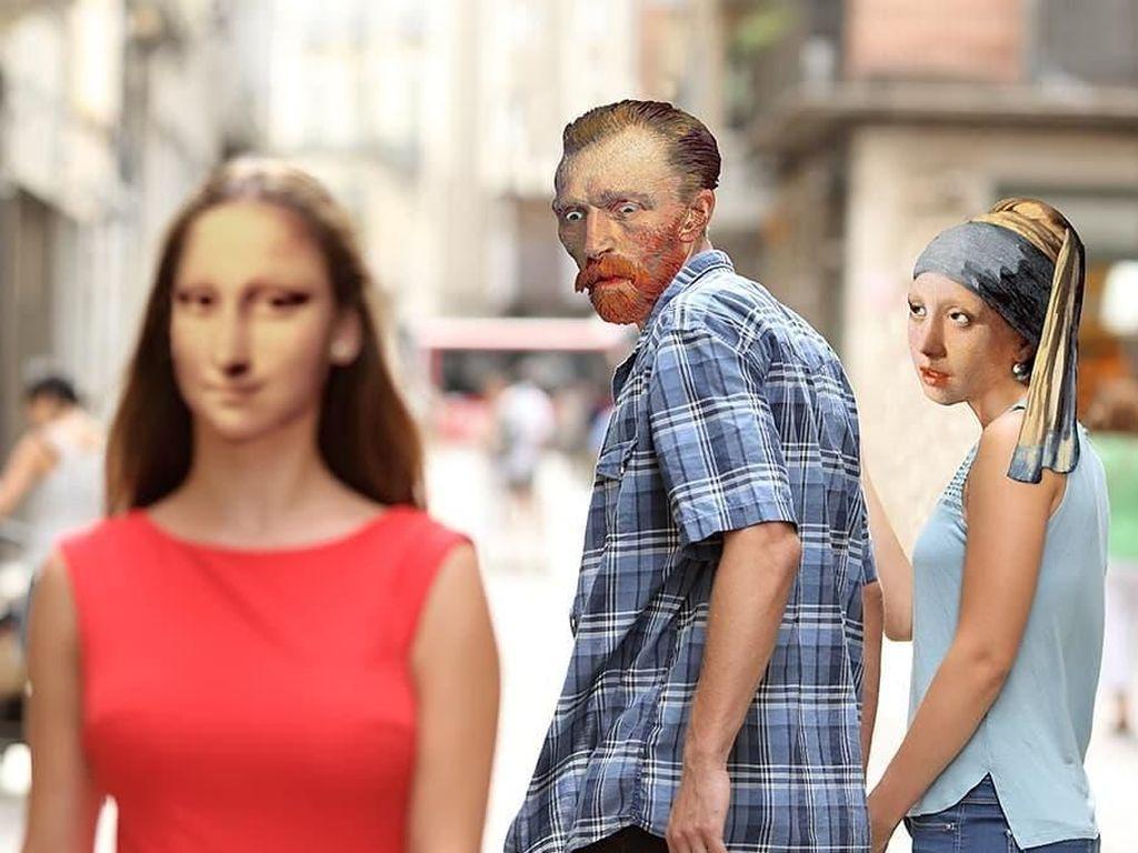 Deretan Manipulasi Mona Lisa yang Mengundang Tawa