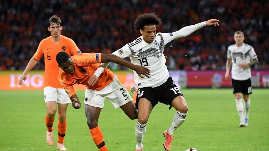 Jerman Belum Menang di UEFA Nations League