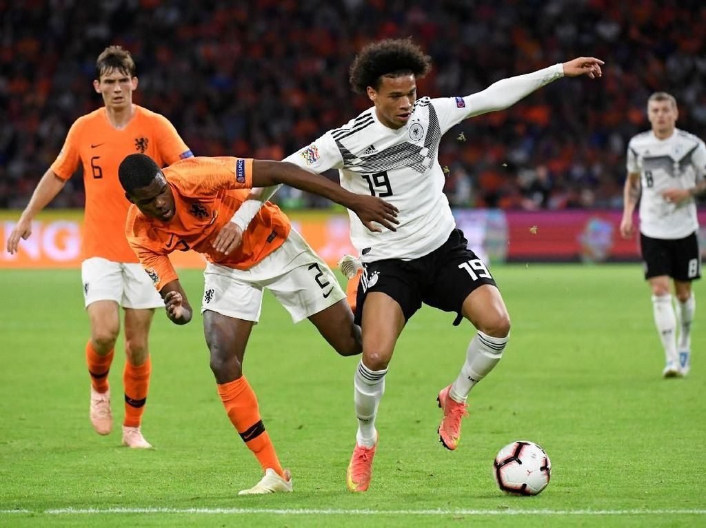 Jerman Belum Menang di UEFA Nations League