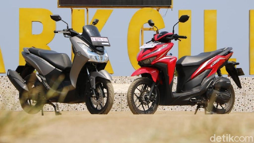 Dipakai Touring, Ini Plus-Minus Honda Vario 125 vs Yamaha Lexi S