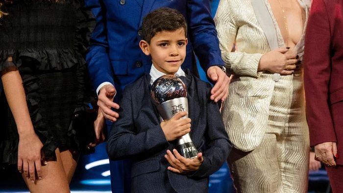 Anak Cristiano Ronaldo membuat dua gol keren bersama akademi Juventus (Philipp Schmidli/Getty Images)