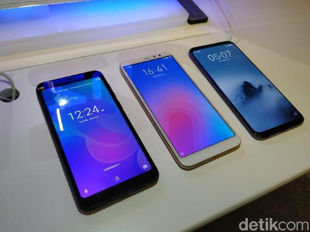 Meizu Ejek Tren Smartphone Berponi