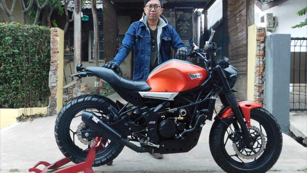 Kawasaki Z250SL Gaya INDIs, Lebih Macho dan Berisi