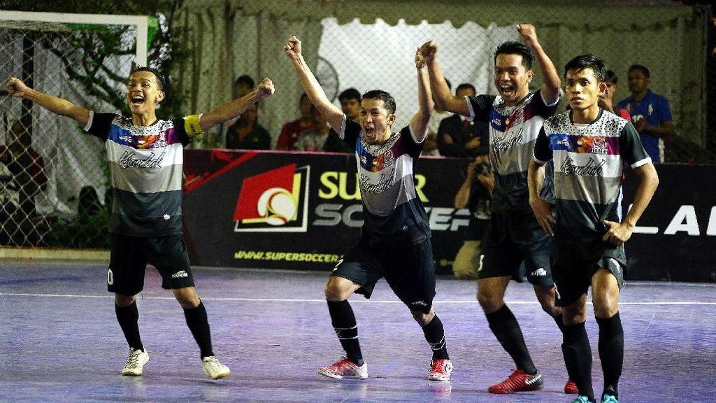 Kerambah FC Juara Super Soccer Futsal Battle 2018