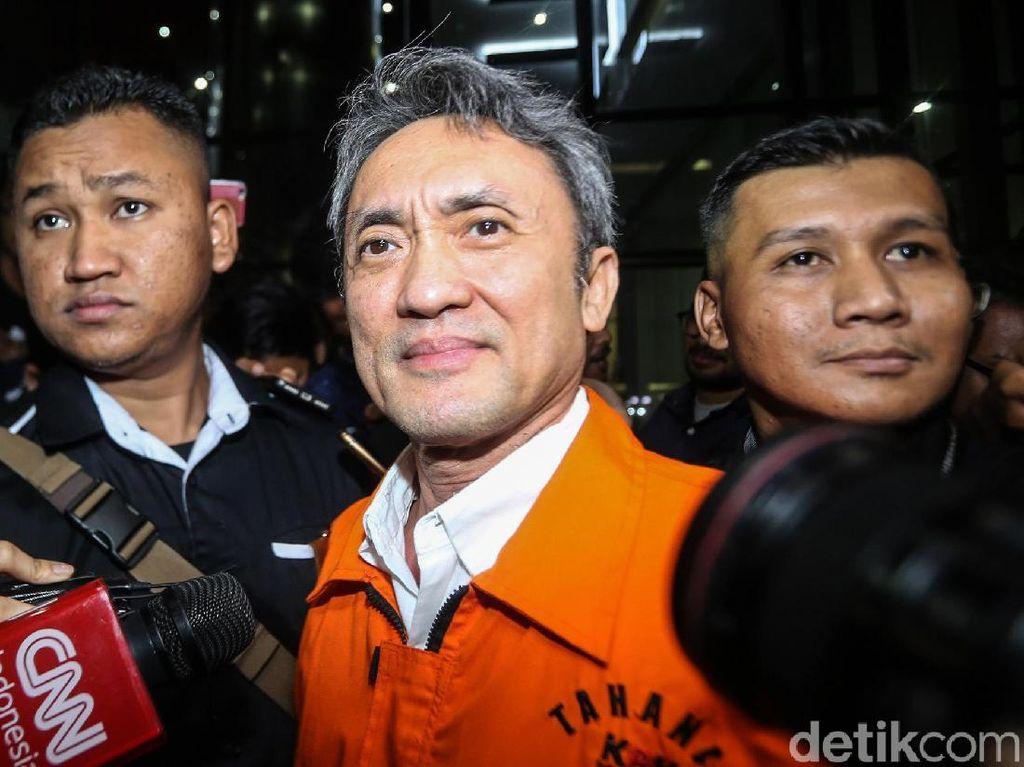 Pemeriksaan Perdana Eddy Sindoro Pasca Ditahan
