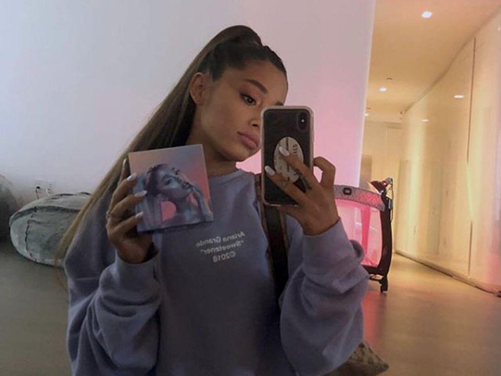 Ariana Grande Singgung Mantan-mantannya di Lagu Thank U, Next
