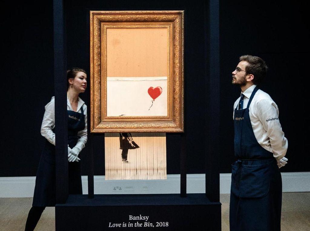 Alasan Museum di Jerman Tak Pungut Biaya untuk Lukisan Fenomenal Banksy