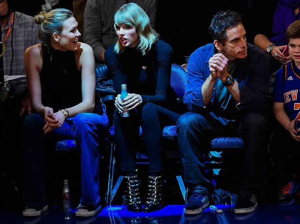 Disebut Musuhan dengan Taylor Swift, Karlie Kloss: Kami Masih Teman Baik