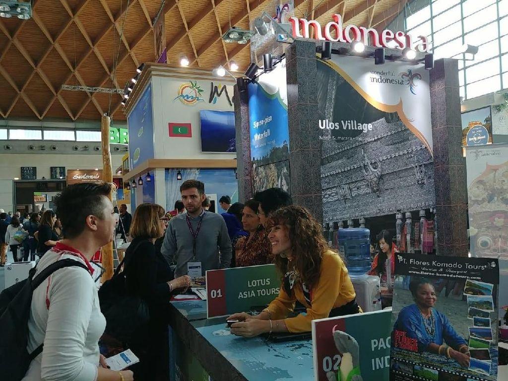 Promosi Destinasi Wisata Wonderful Indonesia di Italia