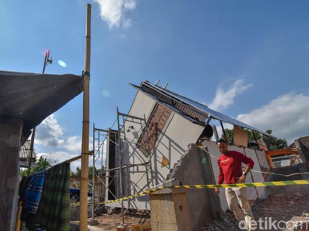 Mengintip Sekolah dan Masjid Tahan Gempa di Lombok