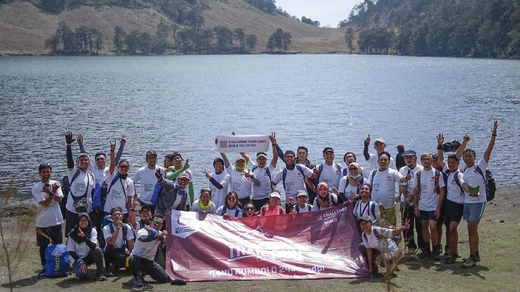 Serunya Trail Run Camp di Ranu Kumbolo