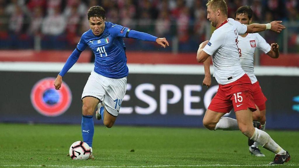 Hasil UEFA Nations League: Tekuk Polandia, Italia Setop Laju Buruk