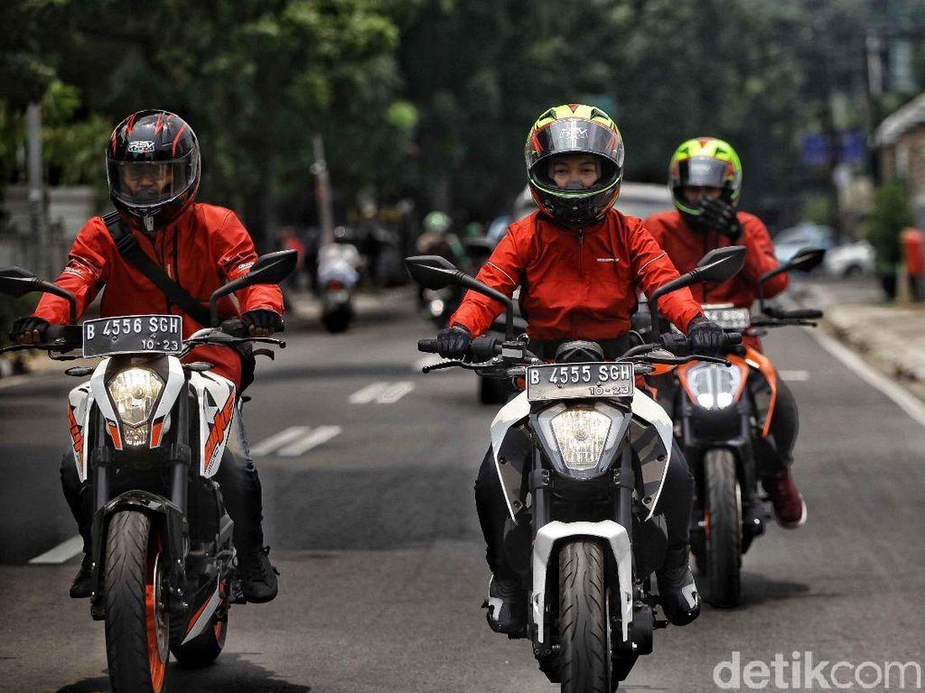 Catatan Hari Pertama Road Warriors Sumpah Pemuda dengan Motor KTM