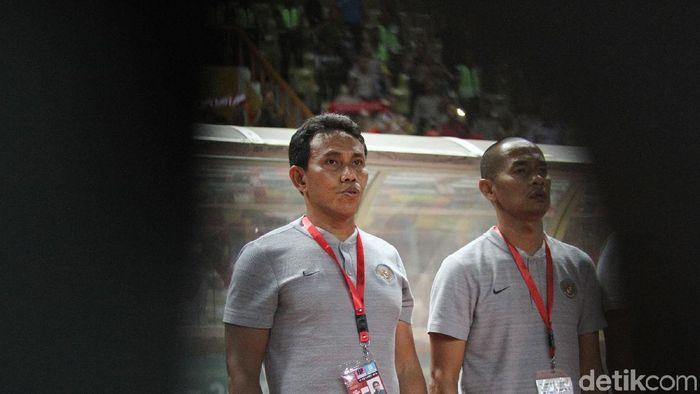 Bima Sakti (kiri) dan Kurniawan Dwi Yulianto (kanan) diproyeksikan berduet tangani Timnas Indonesia. (Rifkianto Nugroho/detikSport)