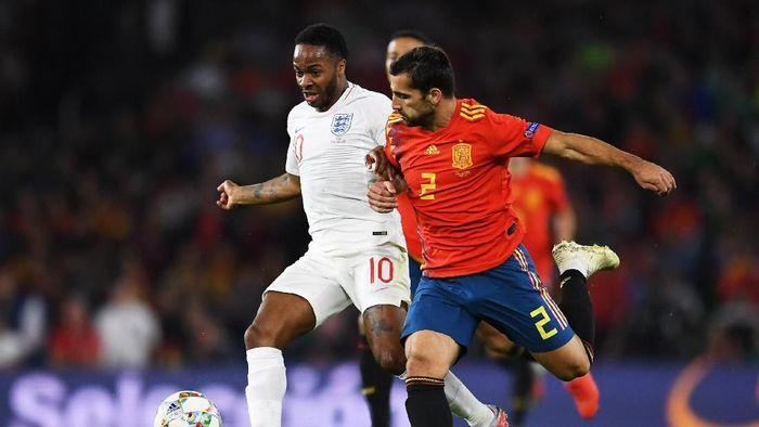 Inggris menang 3-2 atas Spanyol di UEFA Nations League. (Foto: David Ramos/Getty Images)