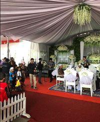 SPBU jadi tempat pernikahan