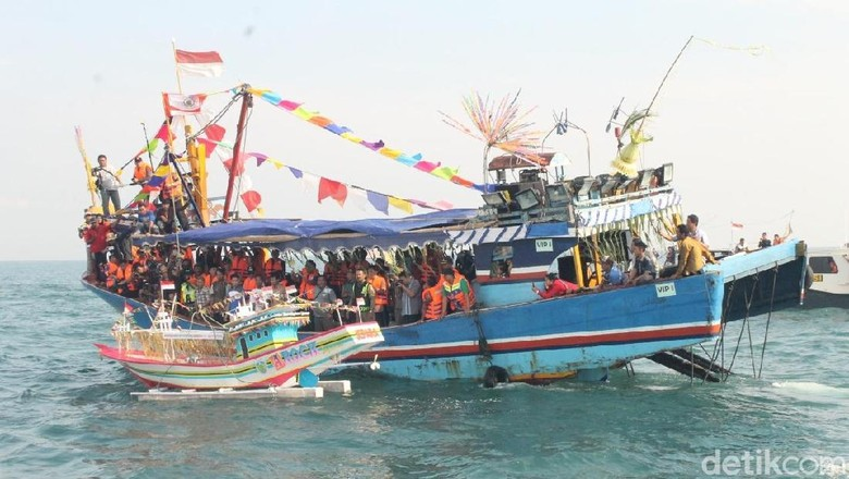 Ilustrasi program sedekah maritim ( Dok Pemkab Jepara/detikcom)