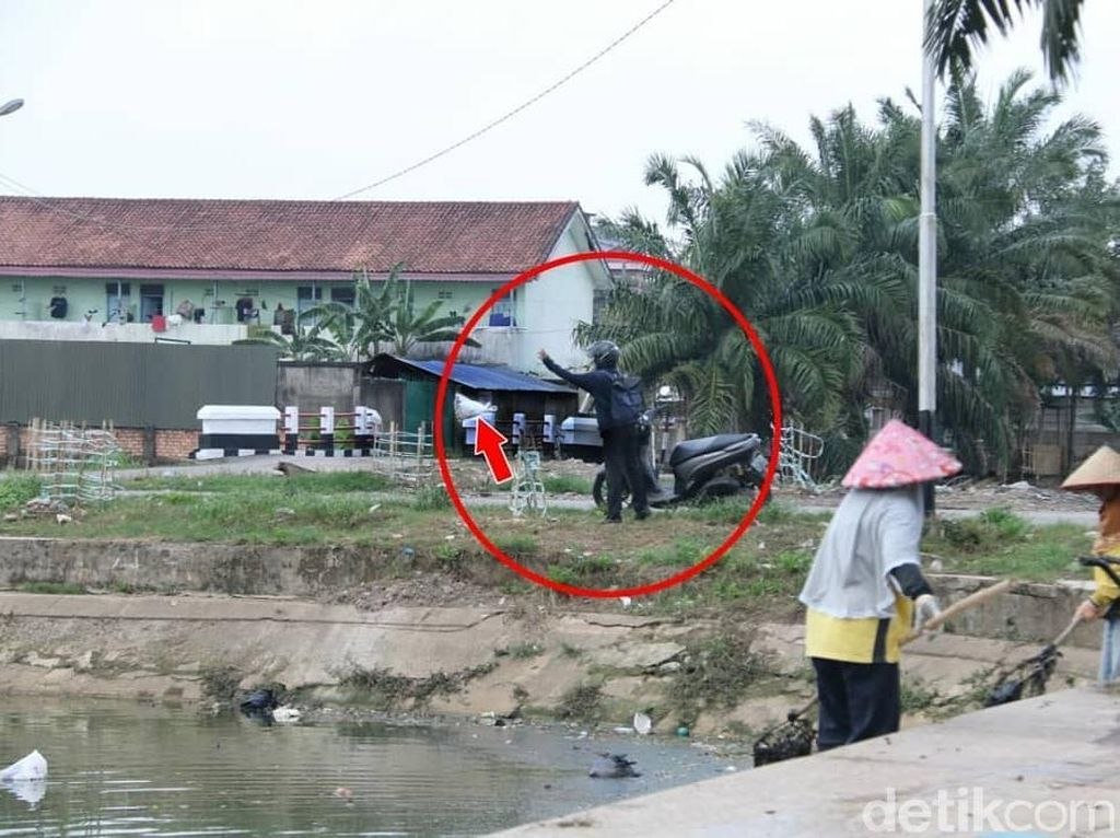 Pelaku Buang Sampah Sembarangan di Palembang akan Dipajang di Medsos