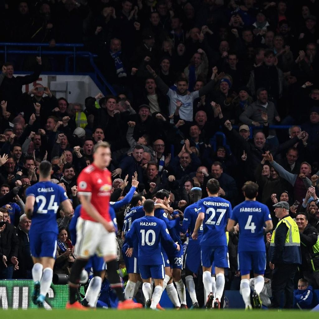 Tantangan Superberat MU: Chelsea On Fire, Stamford Bridge Masih Angker