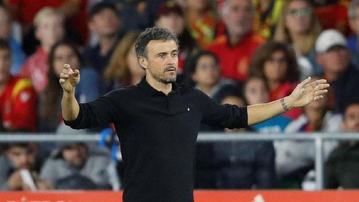 Luis Enrique kembali jadi pelatih kepala Timnas Spanyol (Carl Recine/Reuters)