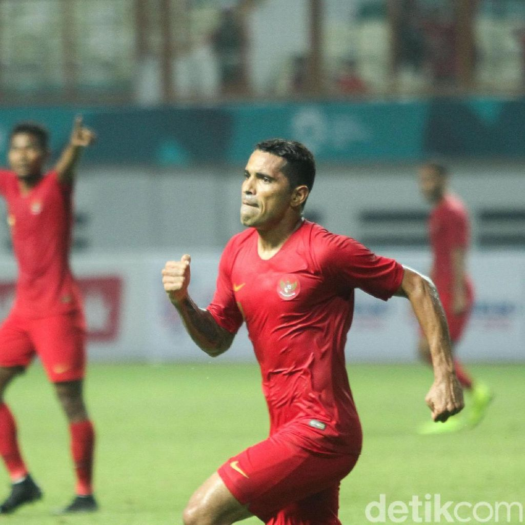 Babak I Indonesia Vs Hong Kong: Skuat Garuda Unggul 1-0