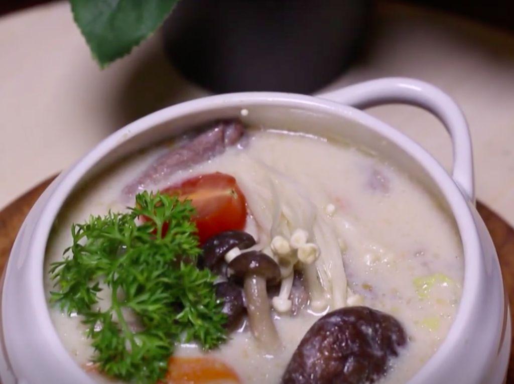 Resep Sup Susu Kedelai, Cara Enak Makan Susu