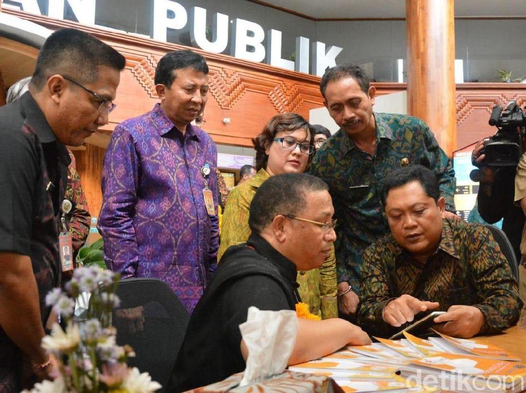 Delegasi Afsel Terkesima dengan Mal Pelayanan Publik Denpasar