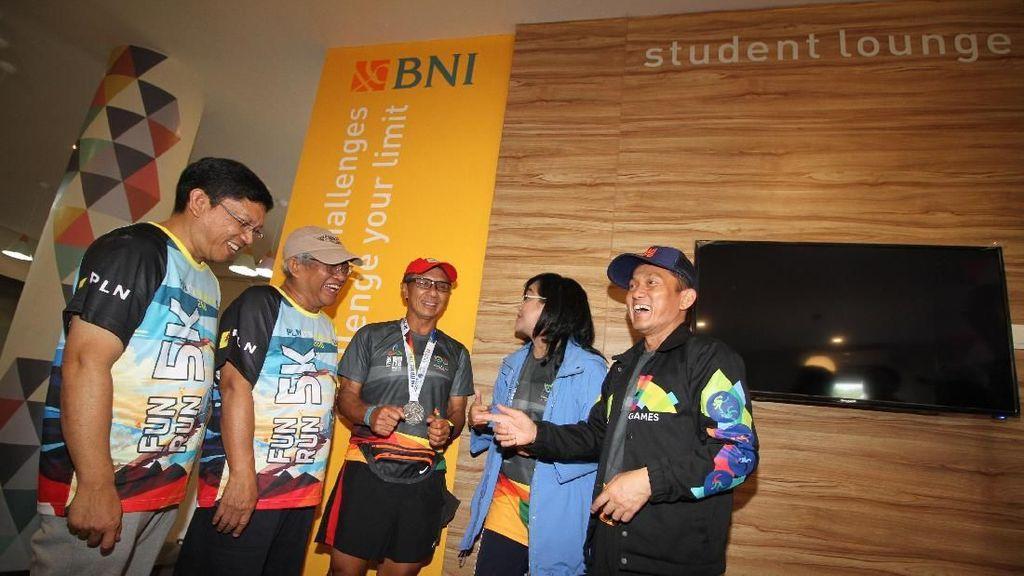 Keseruan BNI ITB Ultra Marathon 2018