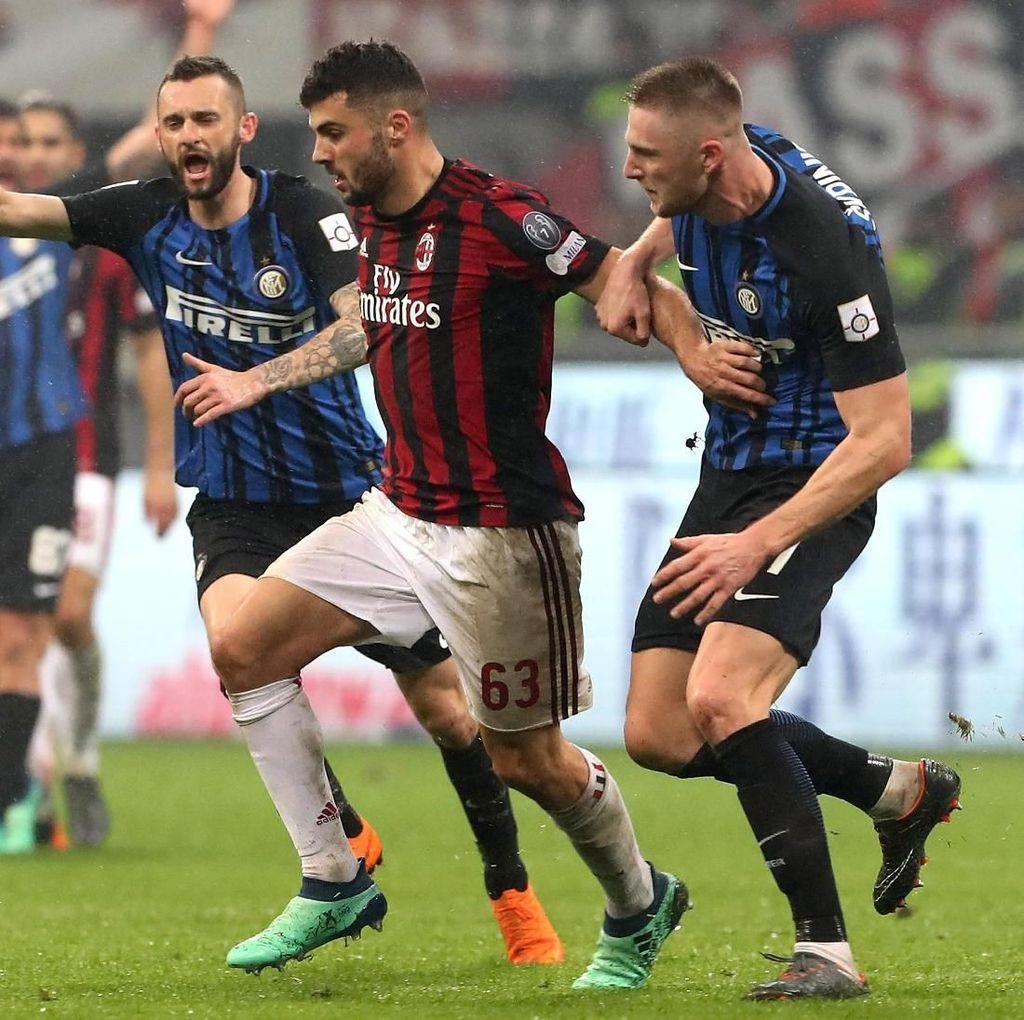 Derby Milan Ramaikan Liga Italia Pekan Kesembilan