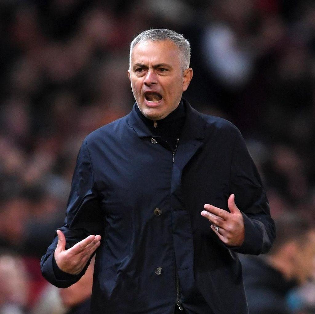 FA Dakwa Mourinho Berkata Kasar Usai Laga Kontra Newcastle