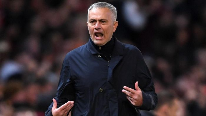 Manajer Manchester United Jose Mourinho menilai Manchester City tim tak tersentuh. (Foto: Laurence Griffiths/Getty Images)