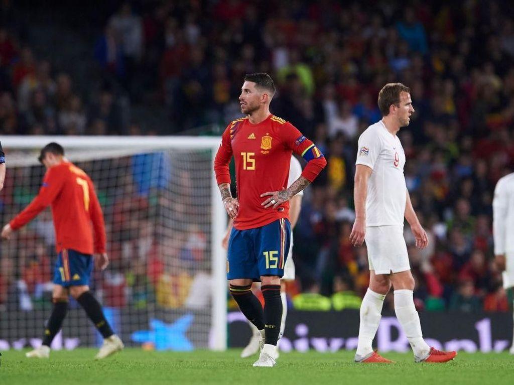Catatan Negatif Serba Pertama untuk Spanyol
